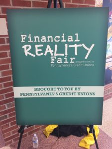 2nd Annual Financial Reality Fair was held at Pottsgrove High School