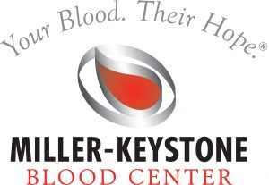 Your blood. Their hope. Miller-Keystone Blood Center