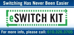 eSwitch Kit - Switching has never been easier - please call 610-326-3705
